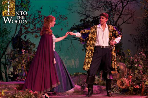 <p>Allison Lewis and Emilio Madrid star in Santa Barbara High School Theatre&#8217;s <i>Into the Woods</i>, opening April 27.</p>