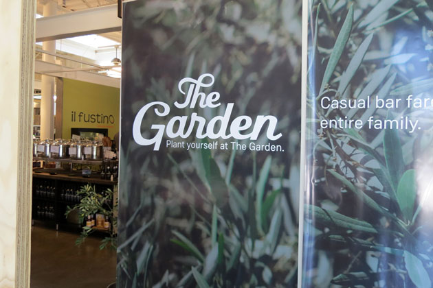 The Garden, a tap room of craft micro and macro brews from around the world, is schedule to open next month inside the Santa Barbara Public Market in downtown Santa Barbara.