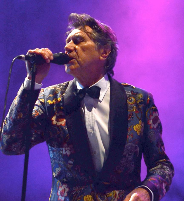 <p>Bryan Ferry performs Saturday night at the Santa Barbara Bowl. With more than four decades of music under his belt, and now looking trim and fit at age 68, the suave crooner doesn&#8217;t seem to be slowing down. With an eight-piece band of young performers half of Ferry&#8217;s age, they kept the beat going to his hits &#8220;Slave to Love,&#8221; &#8220;Avalon,&#8221; &#8220;Both Ends Burning,&#8221; &#8220;Editions of You&#8221; and many more. The evening was great, with an enthusiastic crowd to kick off the concert season.</p>