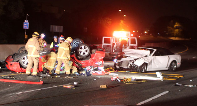 <p>The deadly crash scene of a Highway 101 rollover was every bit as bad as it looked.</p>