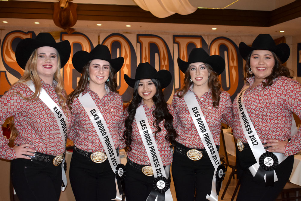 5 Contestants Introduced At 74th Elks Rodeo Queen Contest