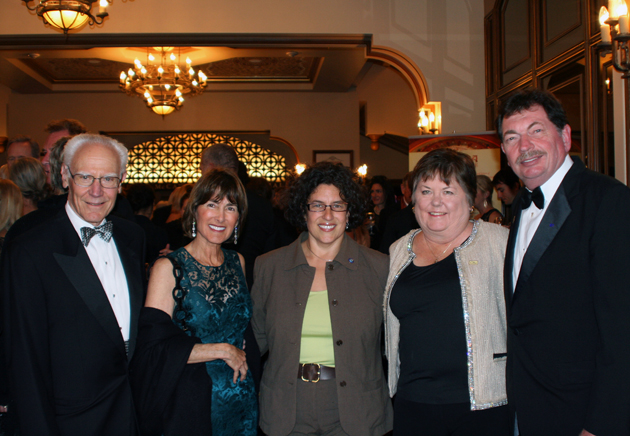 <p>Michael and Anne Towbes, Santa Barbara Mayor Helene Schneider and Sarah and Roger Chrisman attend the Granada Theatre&#8217;s &#8220;Celebrating Our Brilliant Stars&#8221; gala.</p>