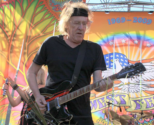 Paul Kantner and the rest of Jefferson Starship will headline a benefit concert at Oreana Winery on Friday.