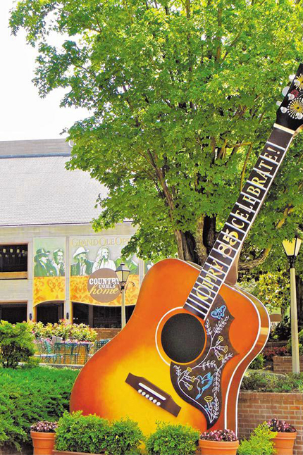 The Grand Ole Opry in Nashville, Tenn.