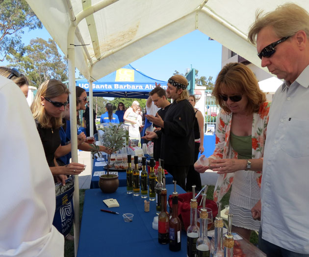 The Taste of UCSB event, which included local wines, brews and bites, drew hundreds of university alumni and community members.