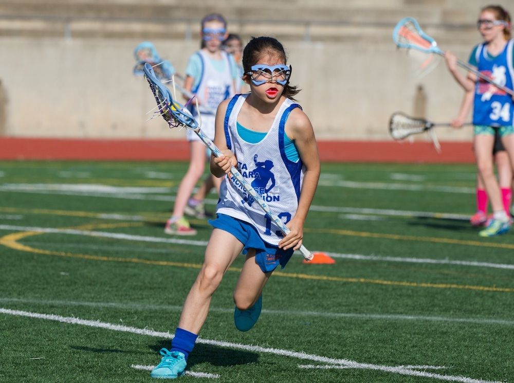 The Santa Barbara Girls Lacrosse League plays its games on Saturdays at San Marcos High. The league has 10-under and 12-under age divisions.