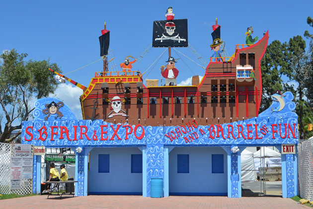 "The Santa 'Aarbara Fair & Expo welcomes visitors aboard through Sunday night with a ""yo ho ho and a barrel of fun."""