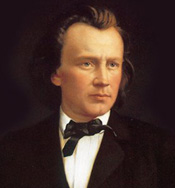 Johannes Brahms without a beard — did you recognize him?