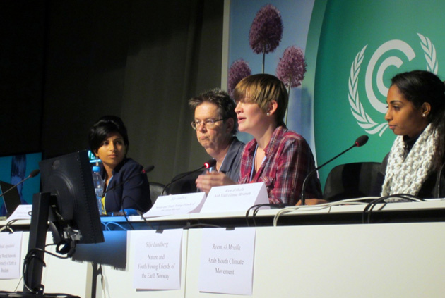 <p>The International Institute of Climate Action and Theory Press Conference on Youth Climate Movement at COP 19 with UCSB sociology professor John Foran, co-founder of IICAT.</p>