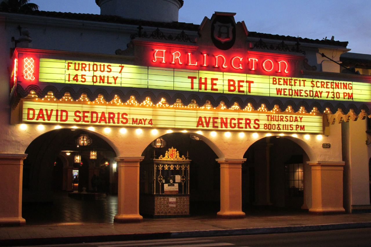 The Arlington marquee for