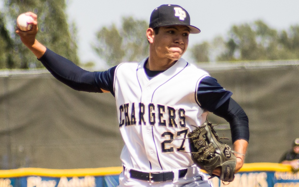 Dylan Kelley pitched four scoreless innings and picked up the win for Dos Pueblos.