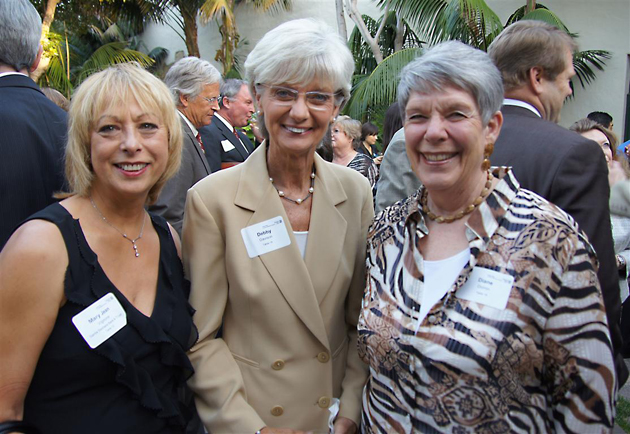 Mary Jean Vignone, left, Debby Davison and Diane Doiron at last year's United Way of Santa Barbara County Annual Awards Celebration.
