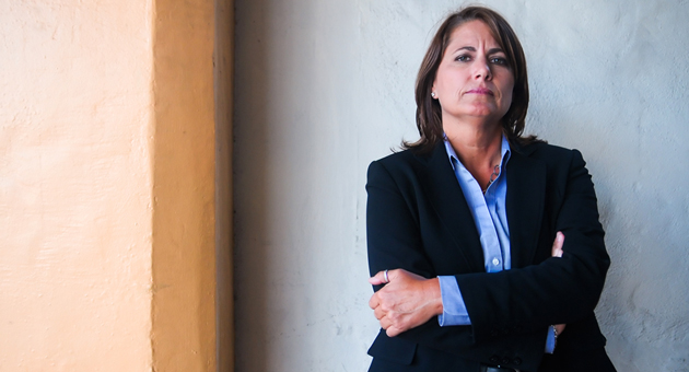 <p>Sgt. Sandra Brown announced Wednesday that she will run for sheriff of Santa Barbara County in the June 3, 2014, primary election.</p>