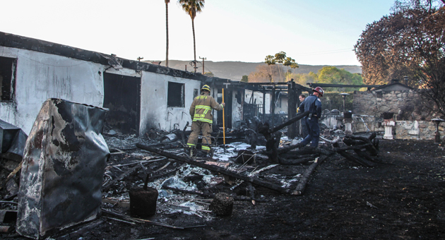 Goleta house fire