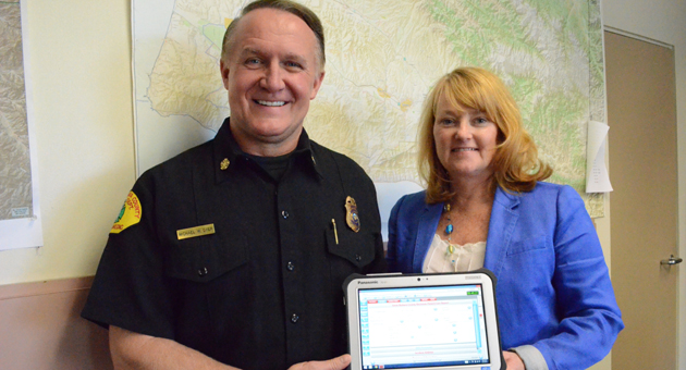 <p>Santa Barbara County Fire Chief Michael Dyer and Emergency Medical Services Director Nancy Lapolla have partnered up to implement an electronic patient health record system for the county&#8217;s first responders and hospitals.</p>