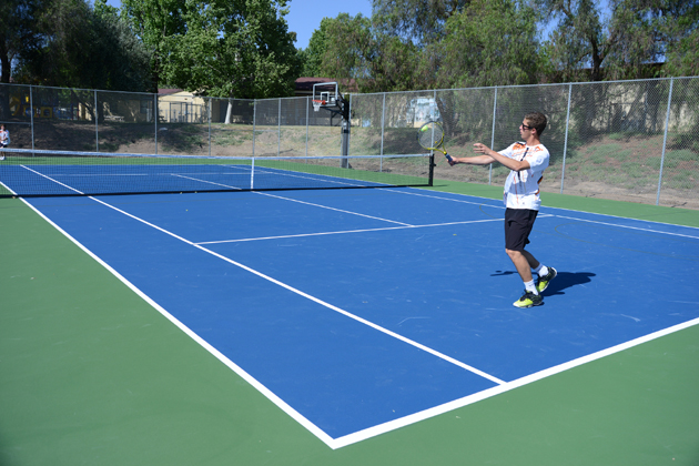 <p>New tennis courts were unveiled Wednesday at Los Olivos Elementary School, a $120,000 project donated through a partnership between the Santa Ynez Band of Chumash Indians and Santa Ynez Valley Youth Recreation.</p>