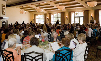 This year's Women's Fund Annual Presentation of Funds Luncheon at Fess Parker's DoubleTree Resort drew a record turnout.