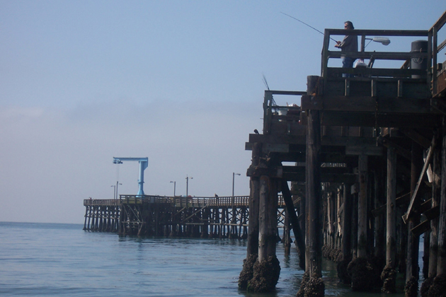 <p>Starting Monday, anglers will be able to cast from most of the length of Goleta Pier.</p>