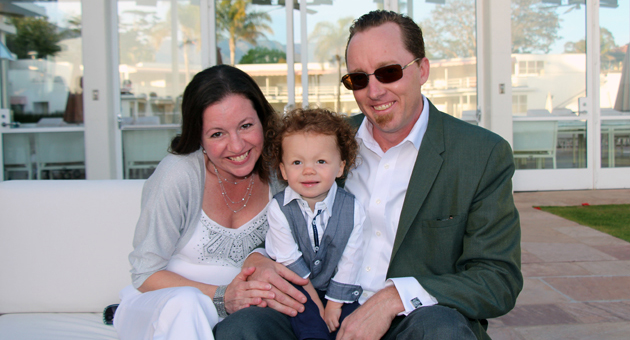 <p>Erin and Ian Zellet with son and heart survivor Aiden, 2, shared their Passion Story at the 2014 Santa Barbara Heart Beach Ball benefiting the American Heart Association-Central Coast Division held in the Coral Casino at the Four Seasons Resort The Biltmore Santa Barbara.</p>