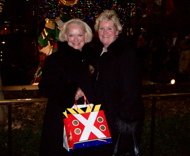 <p>Melinda Bie with her mother, Patsy Graziani, who died last year.</p>