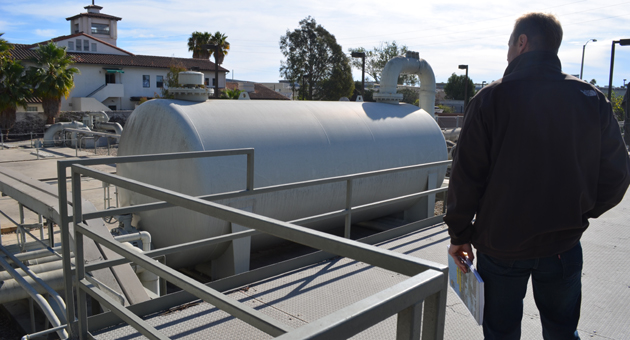 <p>The Charles Mayer Desalination Plant at 525 E. Yanonali St. was built in 1991 as a temporary facility to deal with the 1986-91 drought. Reactivating the facility is part of the city's long-term drought plan.</p>