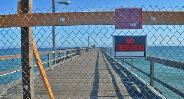 <p>Part of the Goleta Pier that was damaged by storms in March is expected to reopen Monday. Repairs on the structure are still being assessed.</p>