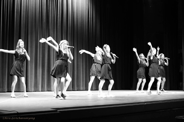 The Young Singers Club's Beach Girls will be among the choirs performing in Saturday's Celebration Choir ShowCase at La Cumbre Junior High. (Kris Lertchareonyong photo)