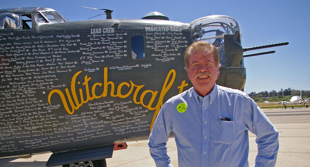<p>Noozhawk executive editor Tom Bolton got an experience of a lifetime Monday when he flew aboard a B-24 bomber similar to the one his father piloted in World War II.</p>