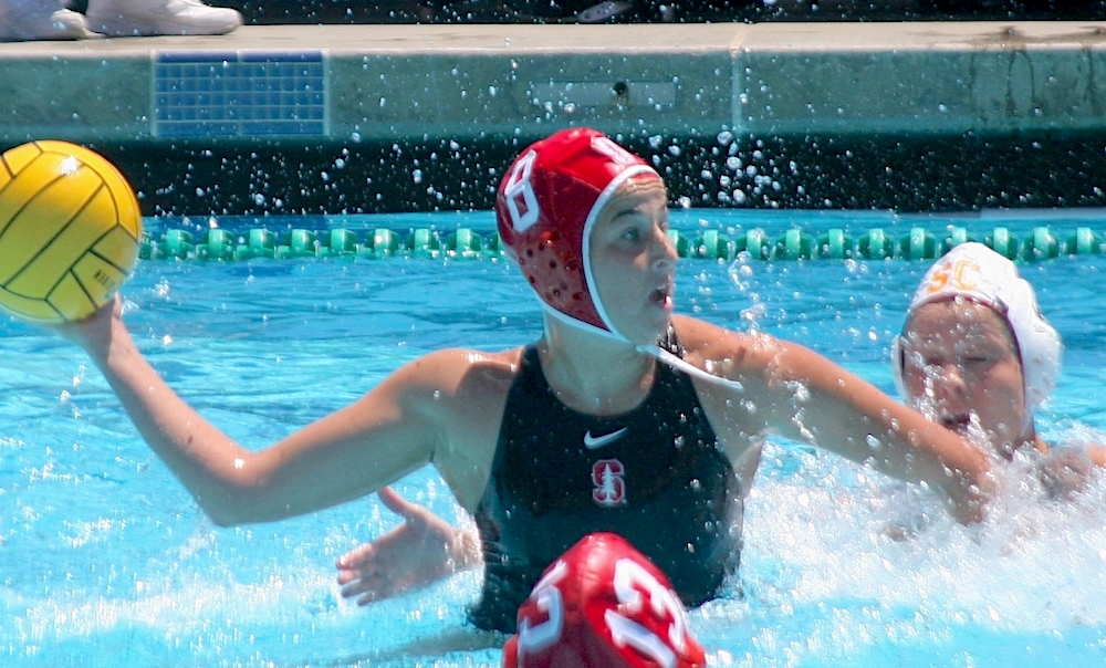 Dos Pueblos alum Jamie Neushul leads second-seeded Stanford in the NCAA Women's Water Polo Tournament.