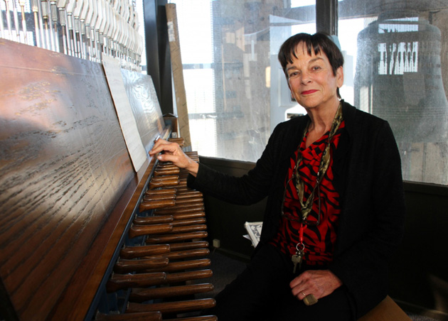 <p>Margo Halsted plays the Storke Tower carillon every Monday morning during the academic year, as well as every Earth Day, before commencement exercises and for various special events.</p>