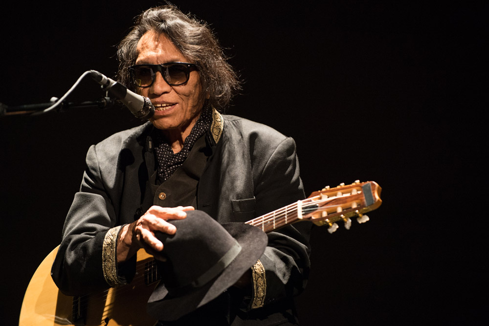 "Singer-songwriter Rodriguez of ""Searching for Sugar Man"" fame will perform at the Granada Theatre on Saturday."