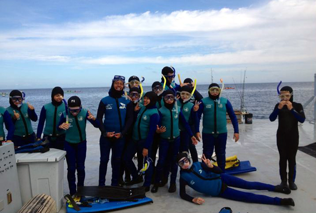 <p>Adelante Charter School sixth-graders recently spent a week on Catalina Island studying with the Catalina Island Marine Institute.</p>