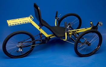 Off Road Recumbent Tricycle Gaining Traction Local News
