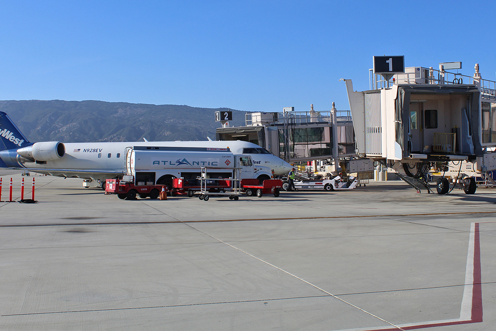After declining by 27 percent since 2000, ridership at the Santa Barbara Airport has begun to rebound in 2017.
