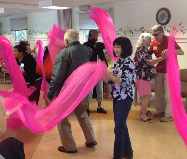 <p>At Friendship Center, those who prefer more lively social activities can engage in opportunities that include music, movement and theater arts.</p>