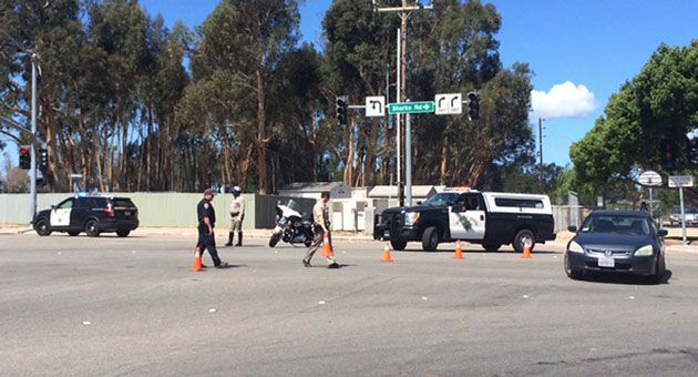 <p>UCSB police officers and Santa Barbara County sheriff&#8217;s deputies conducted an extensive search in Isla Vista Tuesday for a suspect who fled from police.</p>