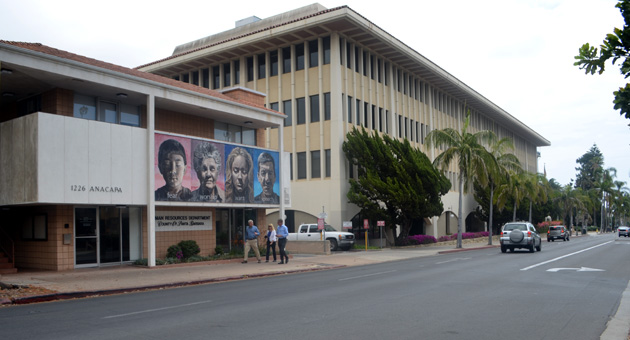 <p>Santa Barbara County has nearly $84 million in deferred maintenance costs for its roads, parks and buildings, including the County Administration Building at 105 E. Anapamu St. and the McDonald Building at 1226 Anacapa St. in Santa Barbara.</p>