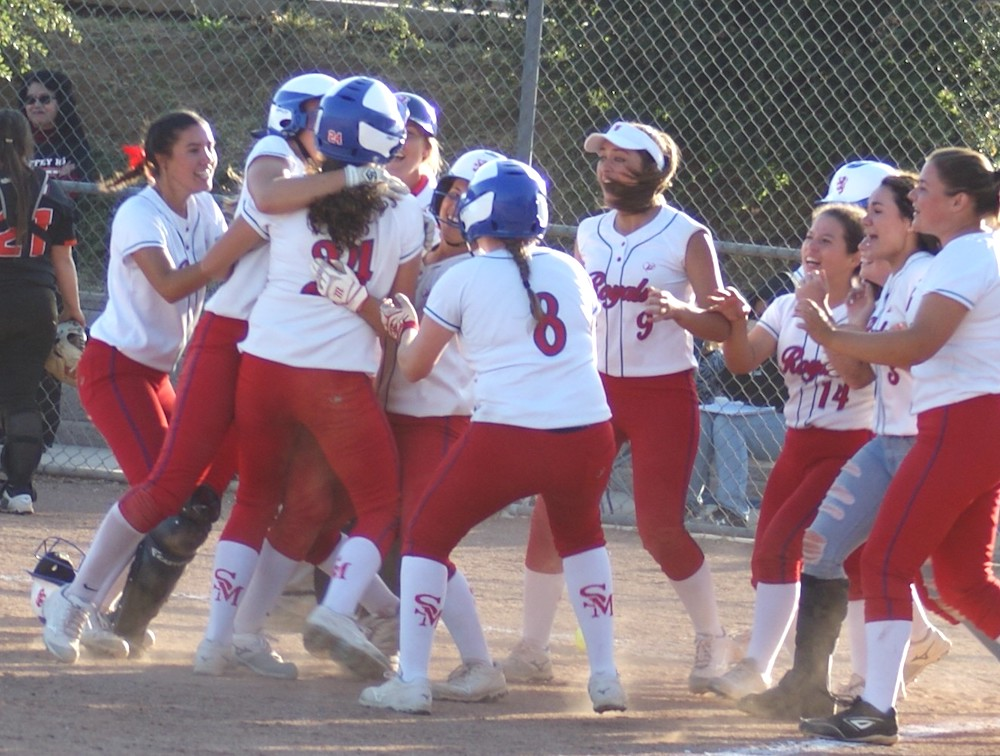 San Marcos softball wins in 8th inning over Chaffey