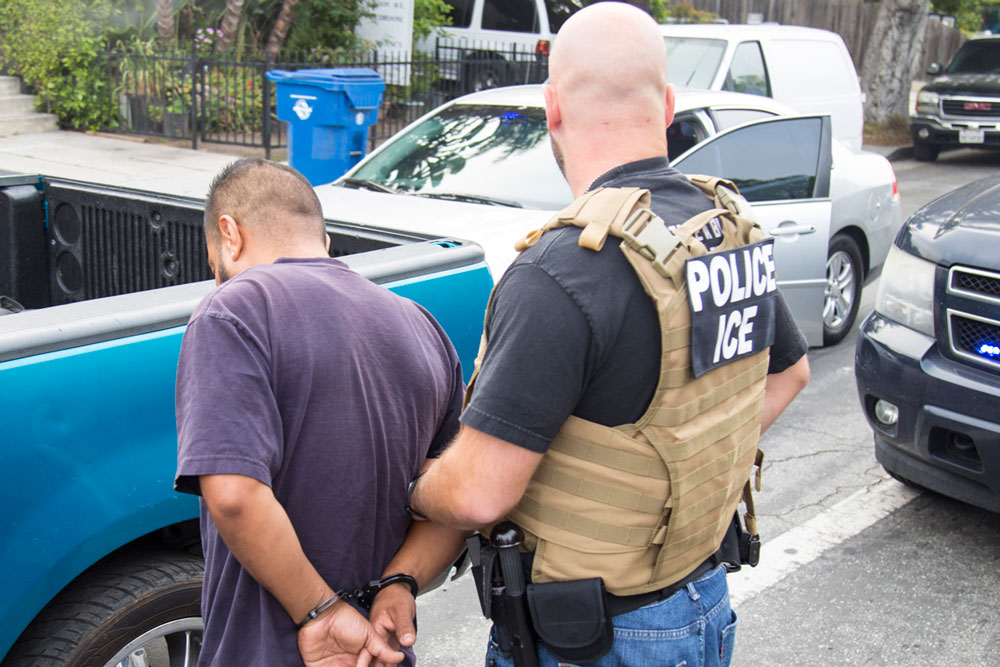 A convicted rapist and a previously deported cocaine trafficker are among those arrested in the greater Los Angeles area by U.S. Immigration and Customs Enforcement Fugitive Operations officers during a five-day expanded enforcement operation targeting at-large criminal aliens, illegal re-entrants, and immigration fugitives.