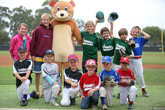 <p>Cubby, the mascot for the Santa Barbara Foresters, will welcome kids of all ages to Saturday&#8217;s Opening Day.</p>