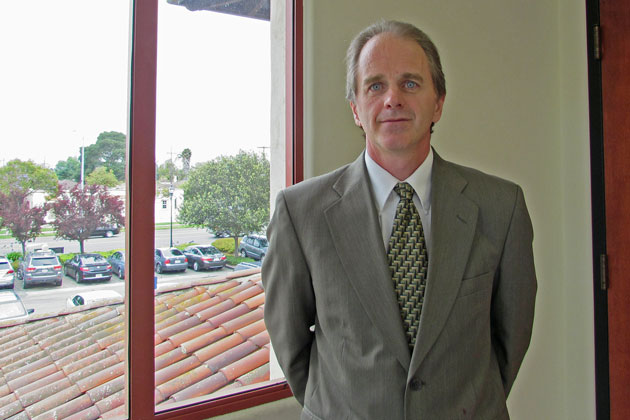 Senior Deputy District Attorney Kevin Duffy has handled three back-to-back trials in the Santa Maria Superior Court building since February. He's decided to semi-retire and move to part-time status.