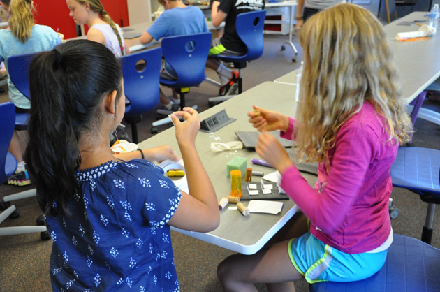 <p>Students tried their hands at different 21st century activities during Marymount of Santa Barbara's recent &#8220;Creativity, Engineering and Coding Come Alive&#8221; event.</p>