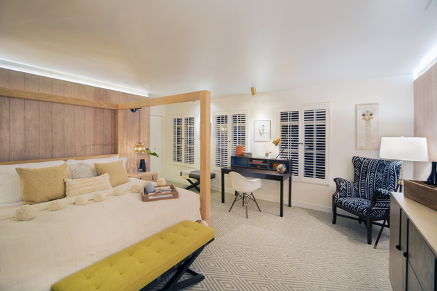 The Landsby is the new name of the recently renovated Petersen Village Inn on Mission Drive in Solvang. Each of the boutique hotel's 41 rooms was renovated, along with the building exterior and on-site restaurant.