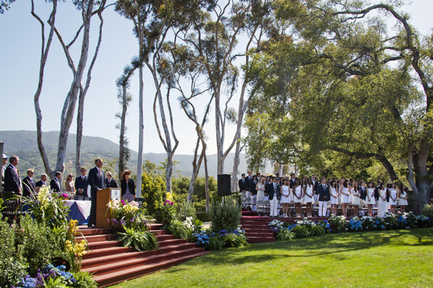 <p>Cate School honored its 76 seniors during Saturday&#8217;s commencement ceremony.</p>