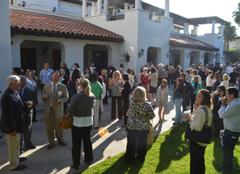 The Bacara Resort & Spa, site of the Partners in Education breakfast, was briefly evacuated Wednesday morning after a 4.8-magnitude earthquake rattled the South Coast. (Giana Magnoli / Noozhawk photo)