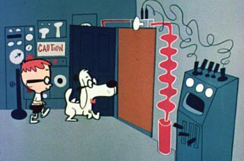 Sherman and Mr. Peabody enter the WABAC Machine circa 1960, but you won't need it to get to the next concert of the UCSB Ensemble for Contemporary Music.