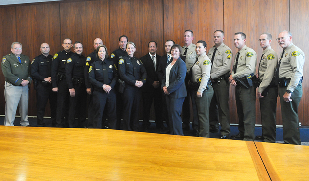 <p>This year&#8217;s recipients of the H. Thomas Guerry Award for Excellence in Law Enforcement.</p>