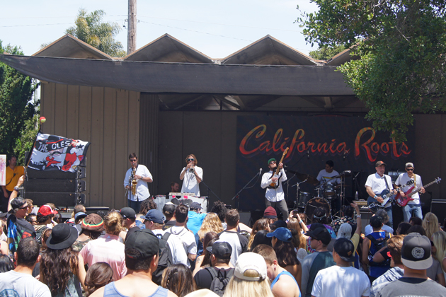 The Olés play at the California Roots Music and Arts Festival in Monterey for the first stop in a seven-state tour.