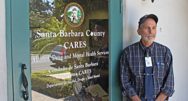 Psychologist Thomas Eby is a clinical supervisor for Crisis and Recovery Emergency Services, a program of Santa Barbara County's Alcohol, Drug and Mental Health Services. (Joshua Molina / Mission & State photo)