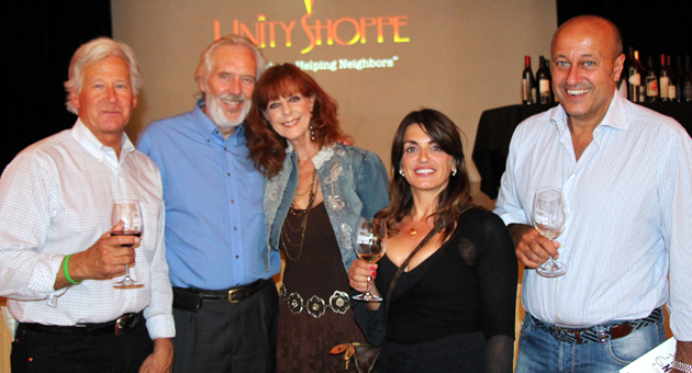 <p>From left, Randy Weiss, Tom Reed of Unity Shoppe with wife Marcia Reed, and Moira and Pino Pacetti at the Grand Tasting event hosted by the Santa Barbara Urban Wine Trail at the Carrillo Ballroom benefiting Youth Interactive and the Unity Shoppe.</p>